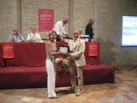 Nicoletta Vallorani, terza classificata al premio letterario Joyce Lussu 2010
