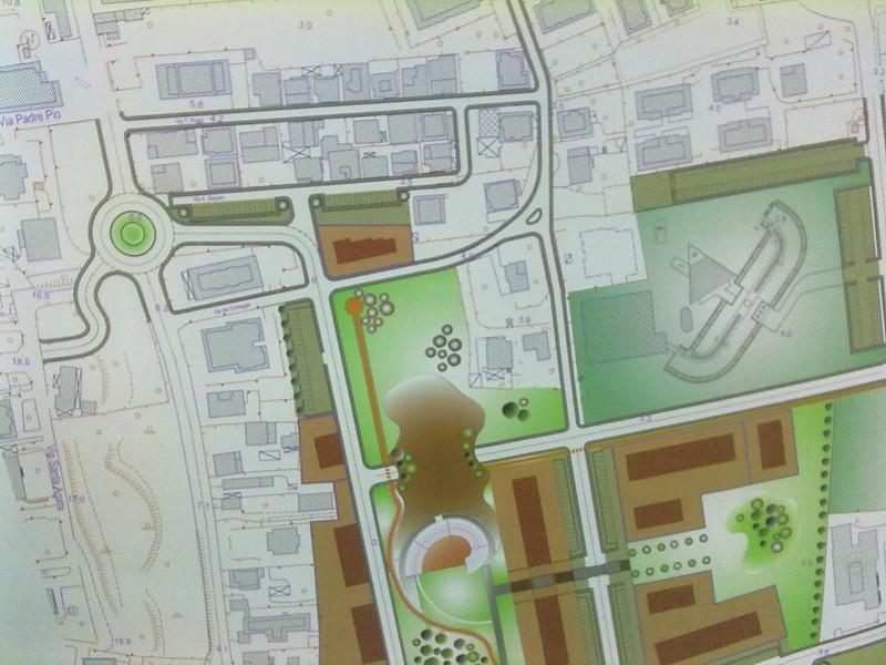 Dettaglio del piano particolareggiato San Pio X-Marina di Sotto