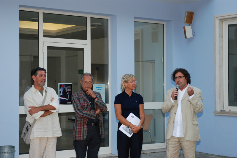 Mario Sasso alla Palazzina azzurra