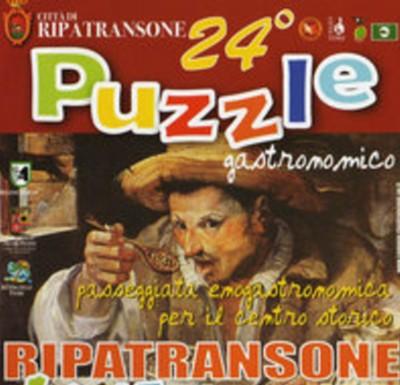 La locandina del Puzzle Gastronomico di Ripatransone