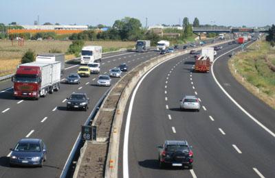 Un pezzo dell'autostrada A14