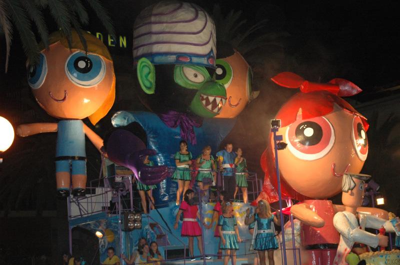 Carnevale estivo 2010, San Benedetto (foto Troiani)