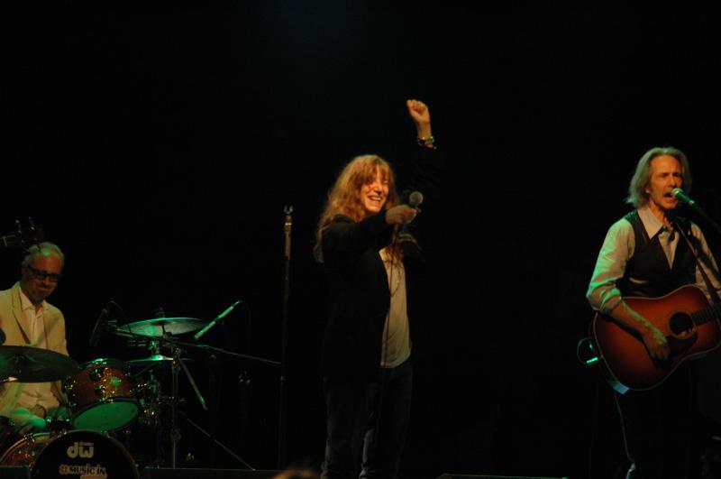 Patty Smith a Civitanova (foto Troiani)
