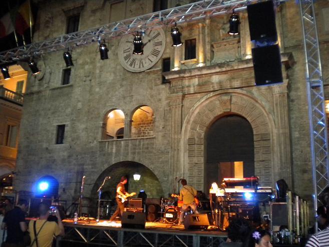 Band in piazza del Popolo
