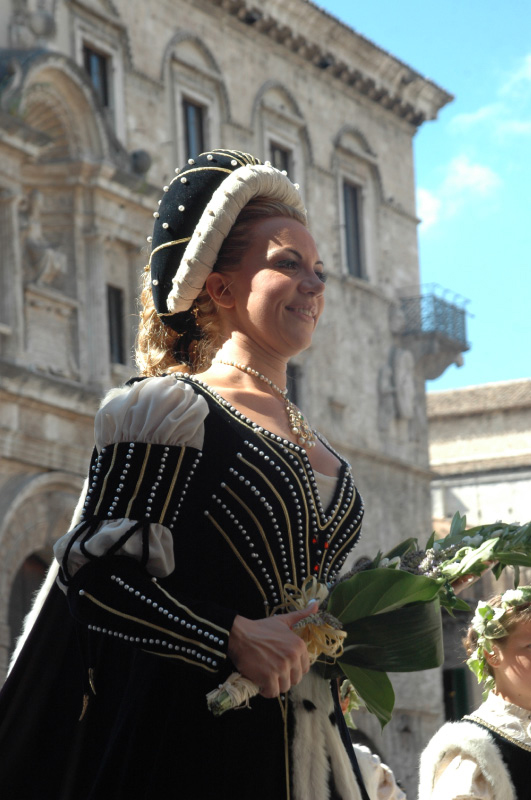 Barbara Costantini, dama di Porta Tufilla