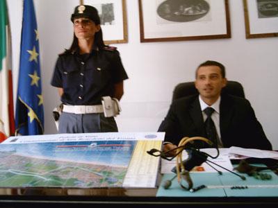 Il dirigente del Commissariato di San Benedetto, Marco Fischetto