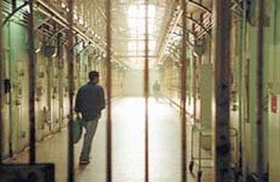 Interno del carcere di Ascoli Piceno (Adkronos)