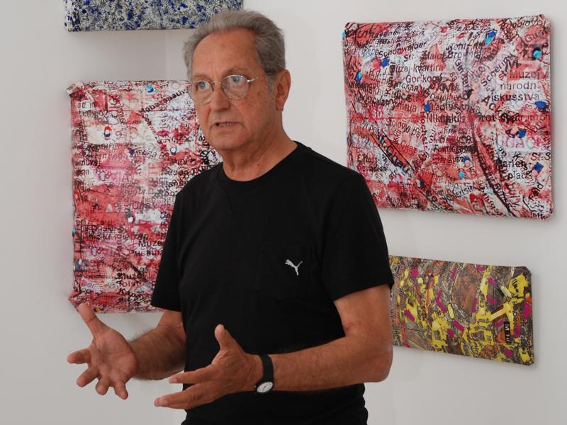 Mario Sasso e le città elettroniche alla Palazzina Azzurra