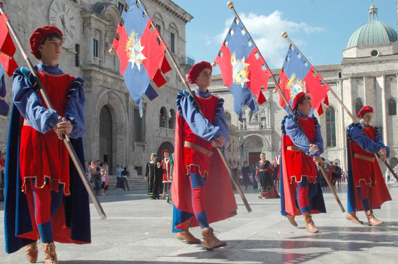 figuranti di Porta Romana