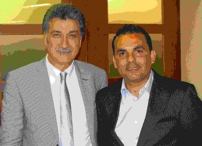 il sindaco di Grottammare Merli col presidente Furnari