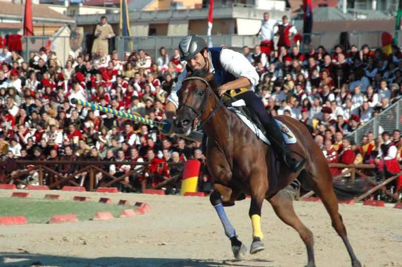 Il vincitore del torneo, Luca Innocenzi per Porta Solestà