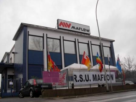 La maflow ha anche una sede a Trezzano sul Naviglio