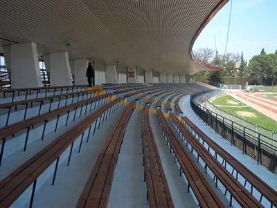 Lo stadio di Civitanova