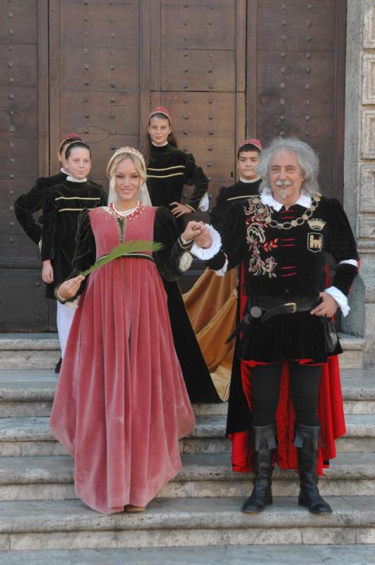 Sant'Orsola, interpretata da Ludovica Fede