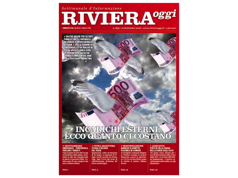 Riviera Oggi 839, la copertina per le edicole di San Benedetto