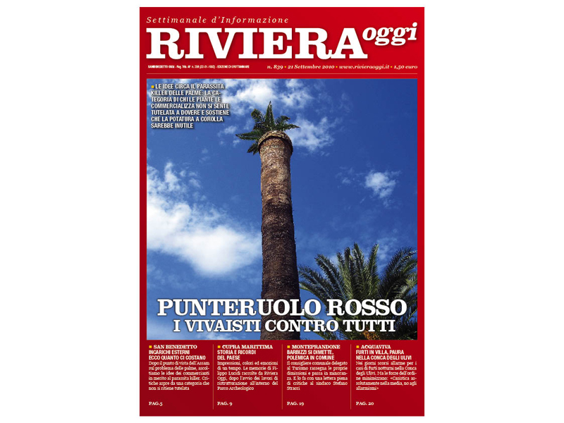 Riviera Oggi 839, la copertina per le edicole di Grottammare