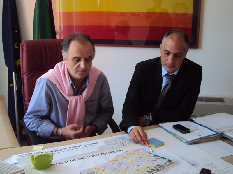 Adolfo Marinageli e Filippo Olivieri