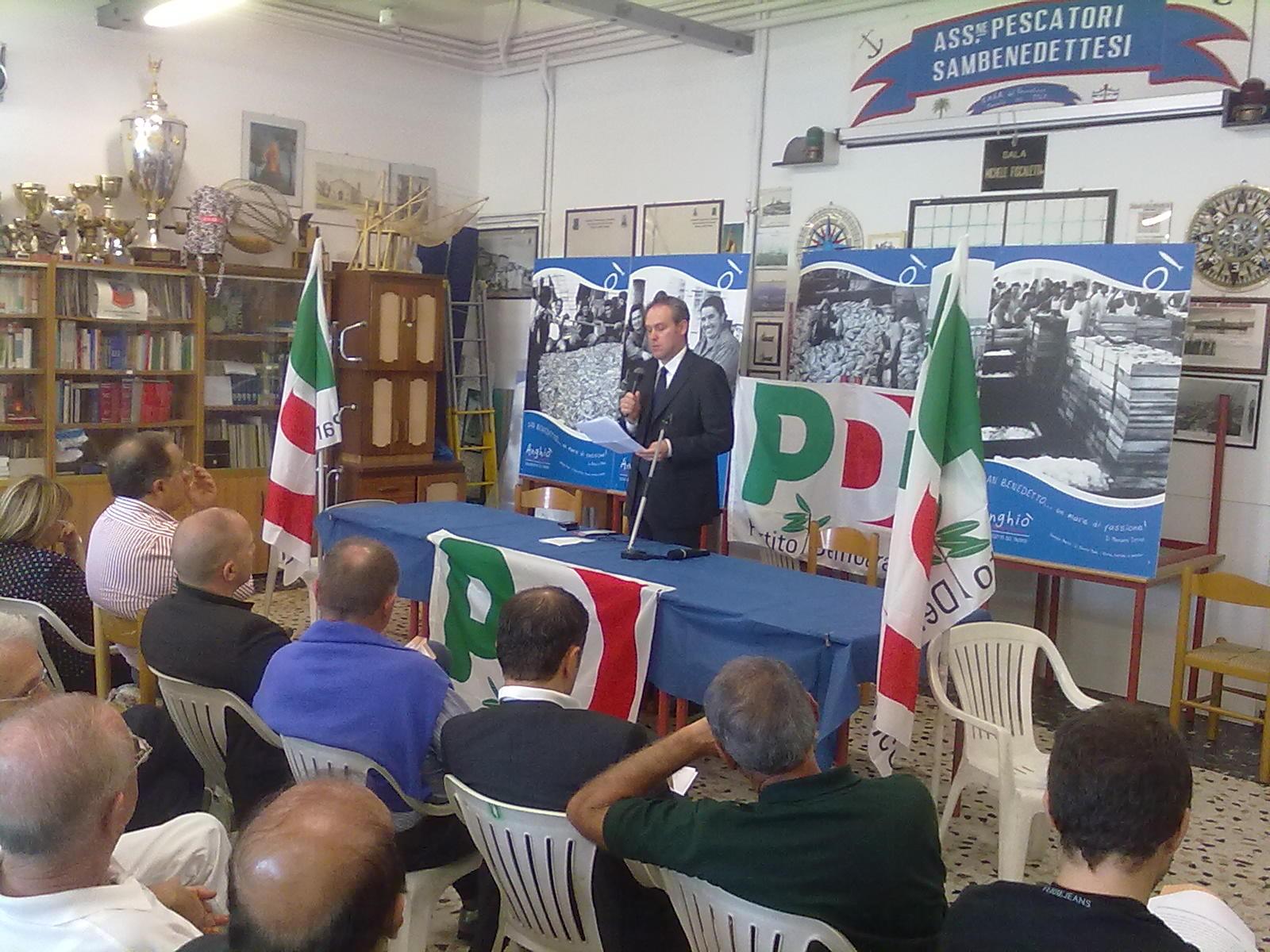 Antimo Di Francesco presenta la sua mozione congressuale a militanti e amministratori del Partito Democratico