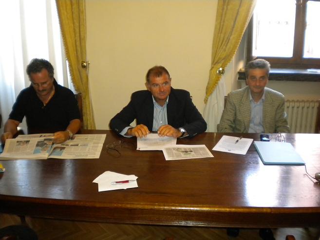 Da sinistra Merlonghi, Mandozzi e Corradetti 002