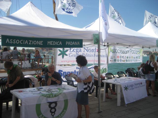 La fitta rete associativa leghista: Venezia, 12 settembre