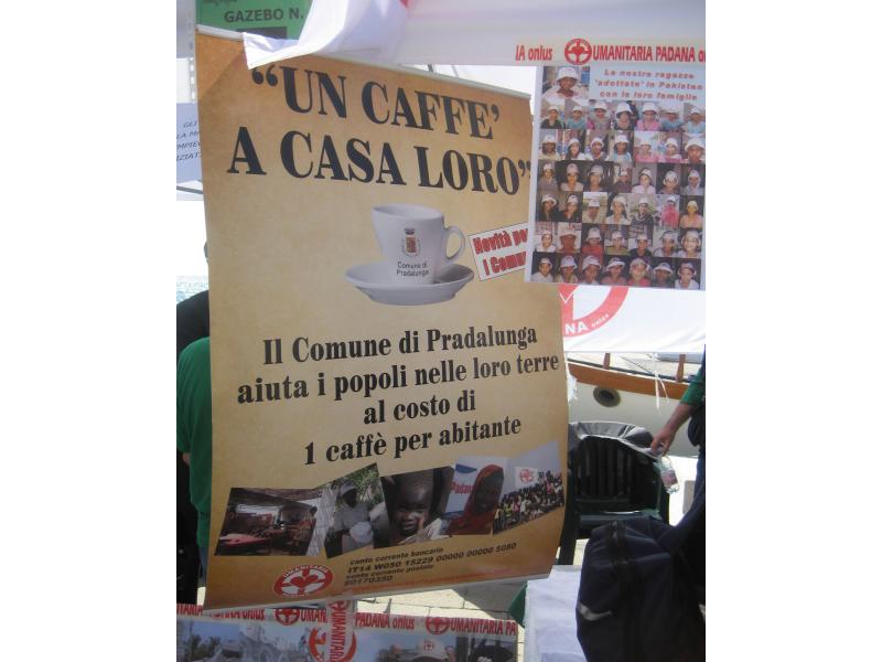 Venezia, 12 settembre: solidarietà in camicia verde