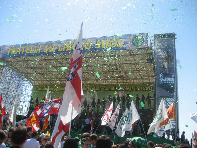 Venezia, 12 settembre: Quando un popolo come quello padano si mette in cammino piega la storia... L'avevamo sentito, più o meno, giusto?