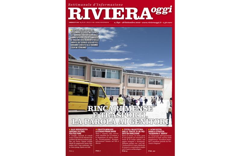Riviera Oggi, la copertina di Monteprandone per il numero 840