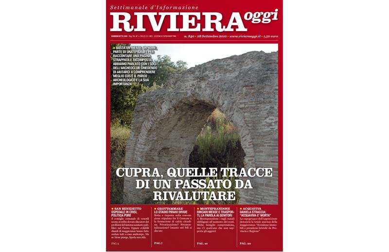 La copertina per Cupra di Riviera Oggi numero 840