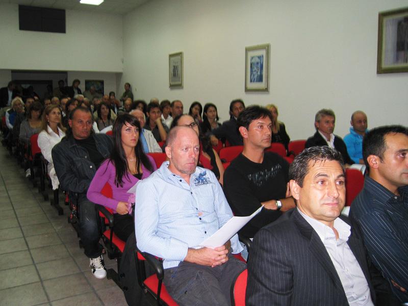Il pubblico nella Sala Flaiano