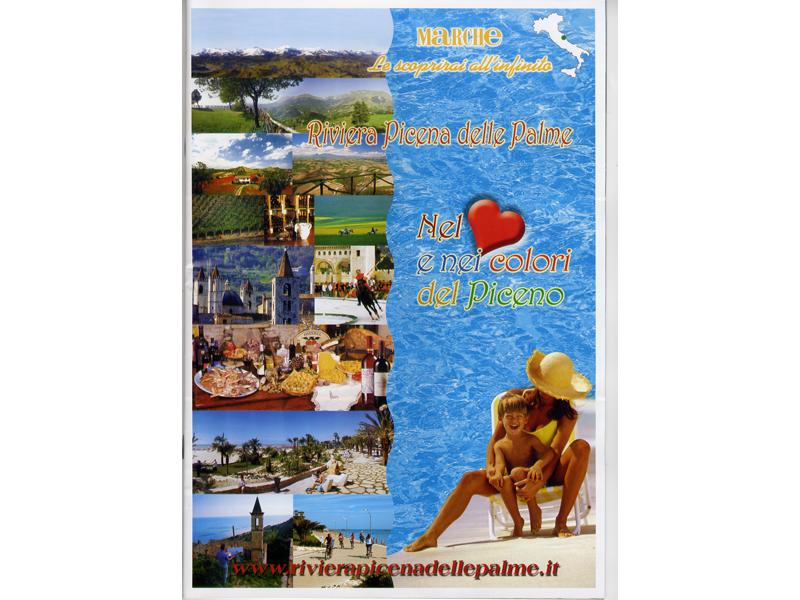 La copertina del nuovo catalogo turistico della Federalberghi-Confcommercio