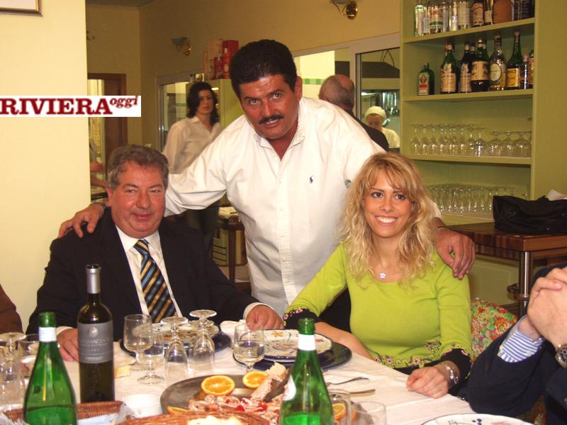 Aprile 2002, ristorante Il Gambero: il padrone di casa