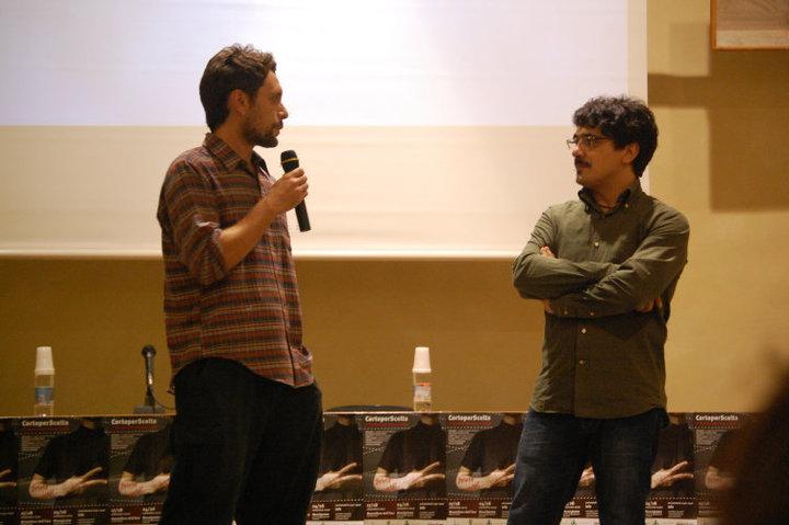 Marco Cruciani e Giuseppe De Angelis a Montefiore dell'Aso