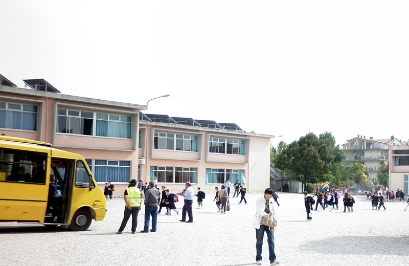 La scuola elementare a Centobuchi