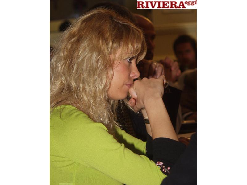 Aprile 2002, ristorante Il Gambero: profilo di Elisabetta Tulliani