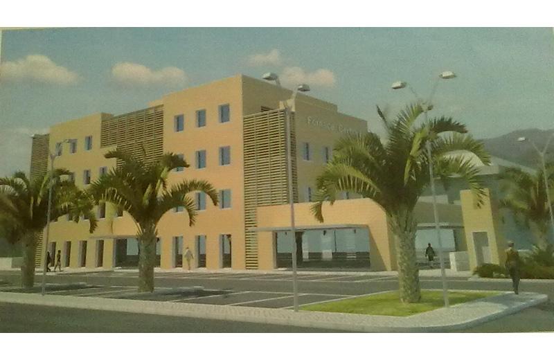 Elaborazioni computerizzate del nuovo edificio in zona Cerboni-piazza Kolbe