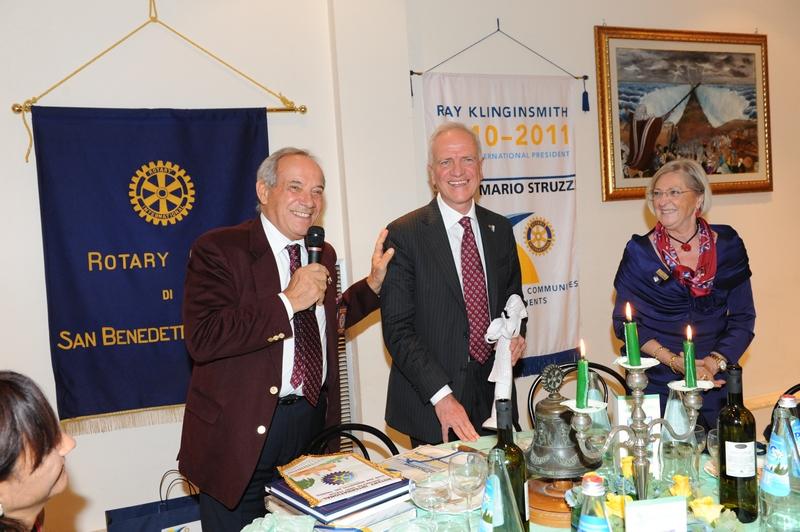 Rotary Club: la visita del Governatore Mario Struzzi