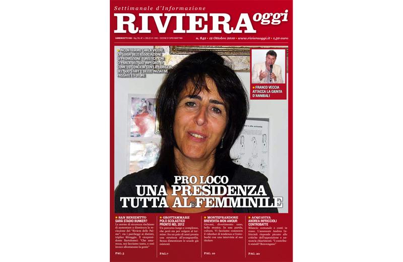 La copertina di Riviera Oggi 842 a Cupra