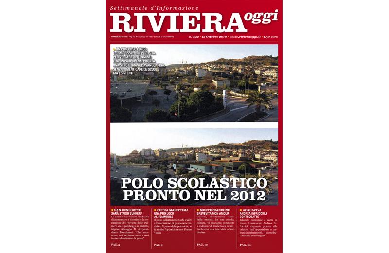 La copertina di Riviera Oggi 842 a Grottammare