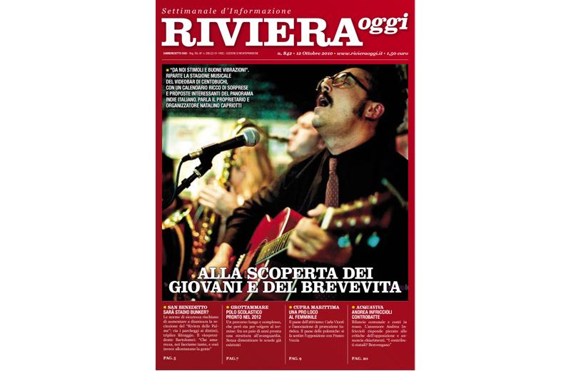 La copertina di Riviera Oggi 842 a Monteprandone