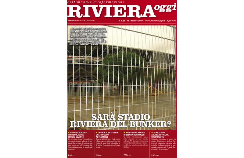 La copertina di Riviera Oggi 842 a San Benedetto