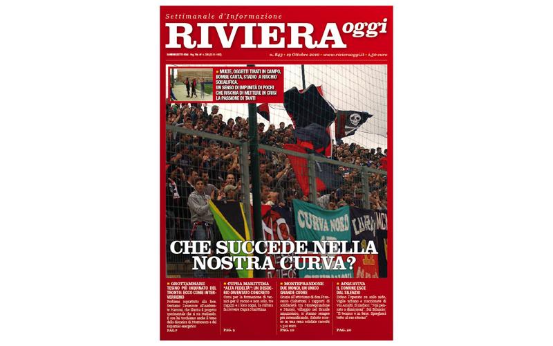 La copertina di Riviera Oggi numero 843