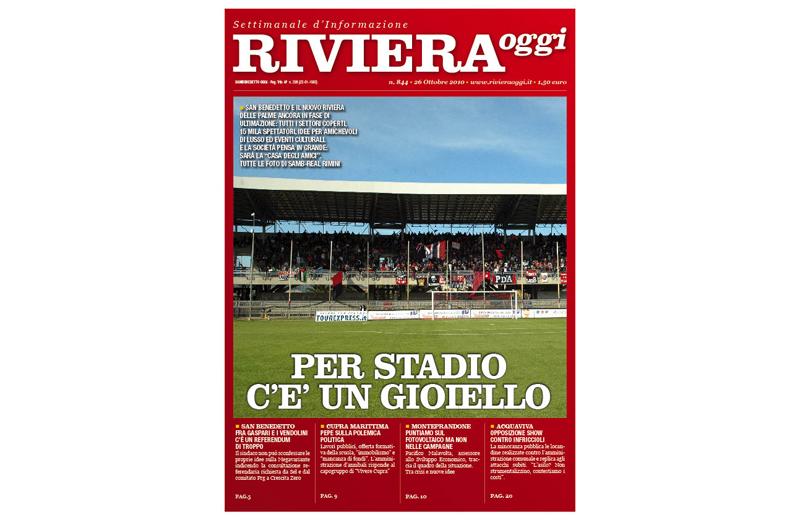 Riviera Oggi 844, la copertina per l'edizione di San Benedetto