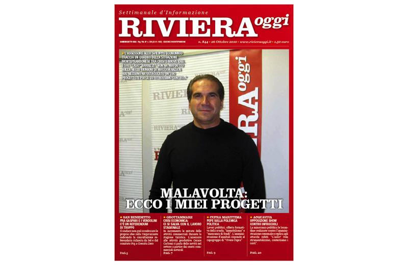 Riviera Oggi 844, la copertina per l'edizione di Monteprandone