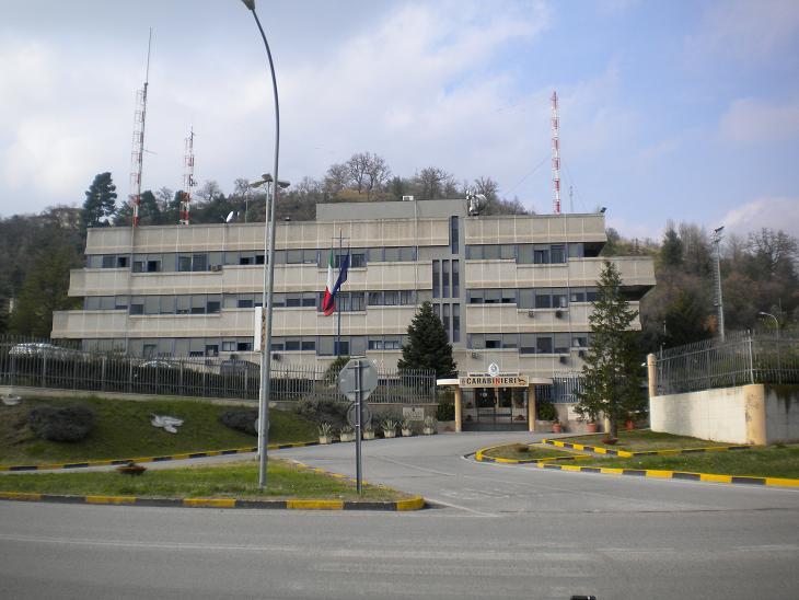 Caserma provinciale dei Carabinieri Ascoli Piceno