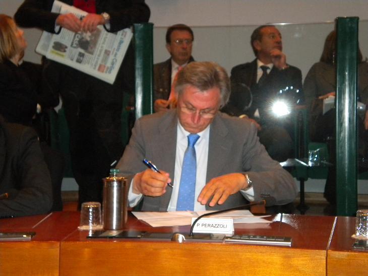 Il consigliere regionale del Pd Paolo Perazzoli