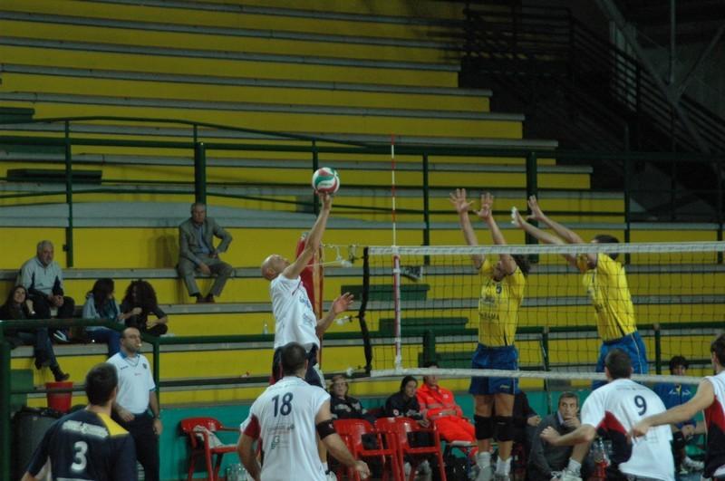 Una partita della City Volley Samb al PalaSpeca (foto Troiani)