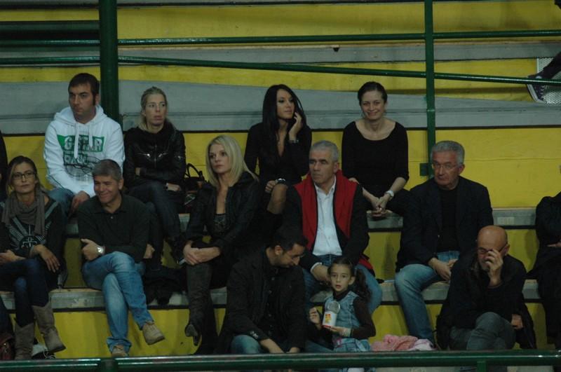 Bachisio Ledda e Mario Bianconi in tribuna (foto Troiani)