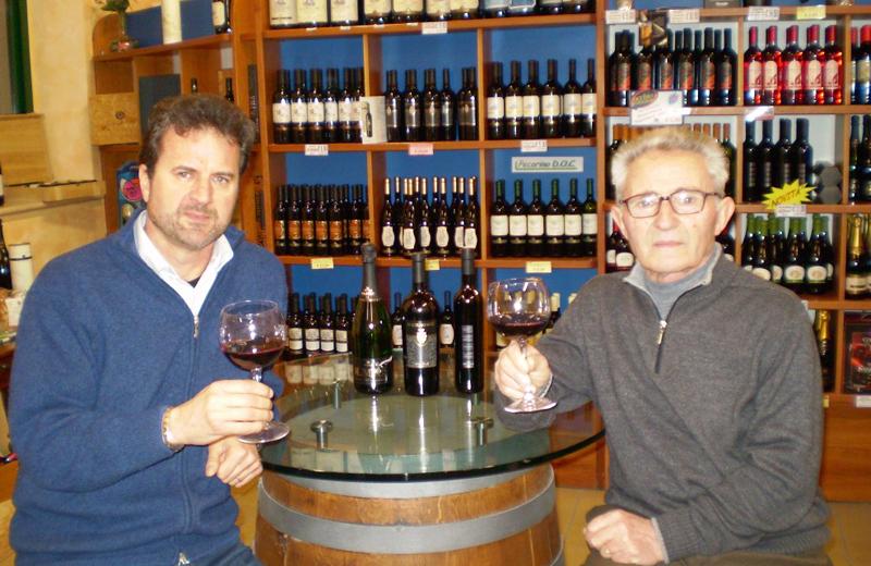Il direttore generale della Colli Ripani Nazario Pignotti e il presidente Emilio Malavolta