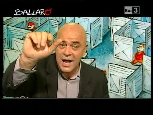 Maurizio Crozza a Ballarò, 19 ottobre 2010