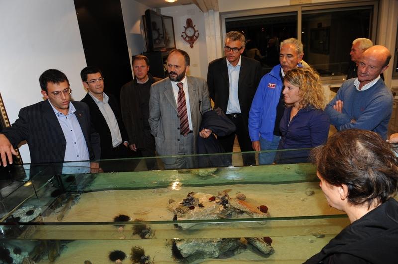 Circolo Nautico Sambenedettese, l'acquario tattile